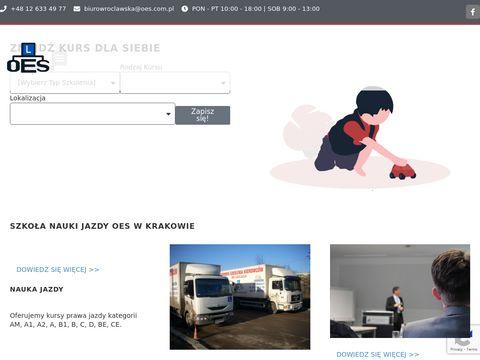 Nauka Jazdy Kraków - oes.krakow.pl