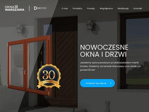 Okna Warszawa DRUTEX - Wymiana i montaż okien w Warszawie