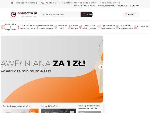 Sklep elektryczny Zawiercie | onelectro.pl