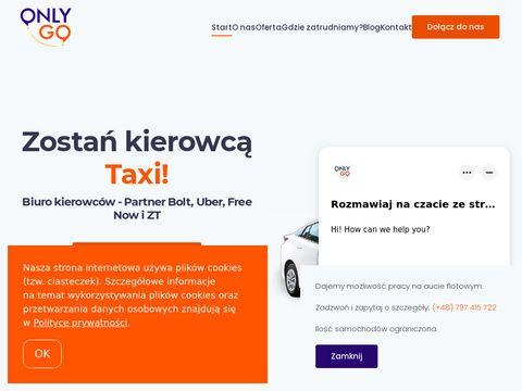 Onlygo - Partner Uber Bolt i FreeNow