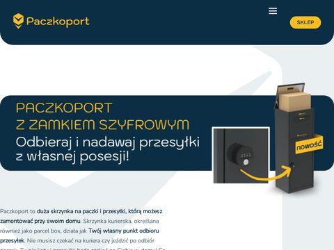 Du偶a skrzynka na paczki - paczkoport.pl
