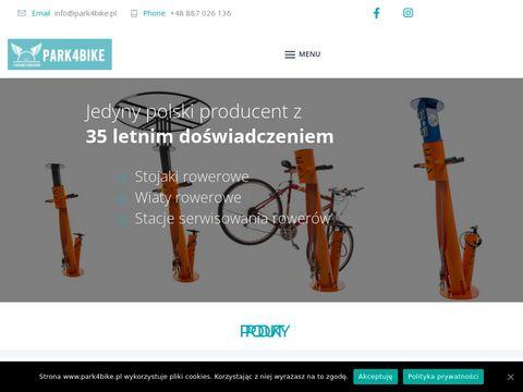 Wiaty rowerowe, stacje naprawy rowerów - Producent
