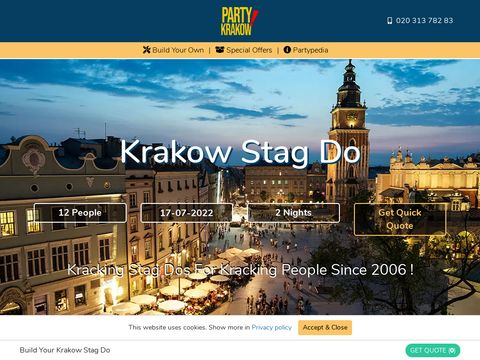 Krakow Stag Do - Party Krakow