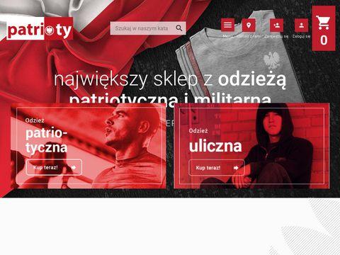Patrioty.pl - odzież militarna