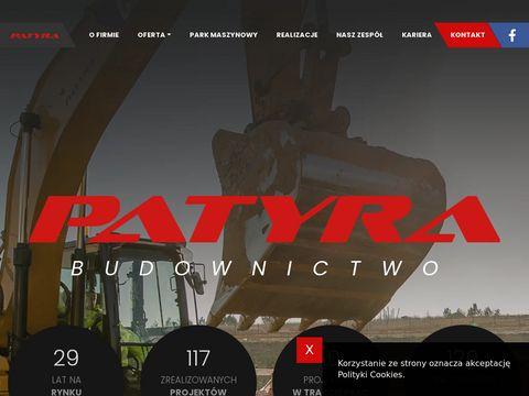 Us艂ugi budowlane - patyra.pl