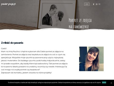 Portret ze zdjęcia na zamówienie - paularysuje.pl