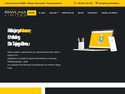Pawlina Limited - tworzenie stron www