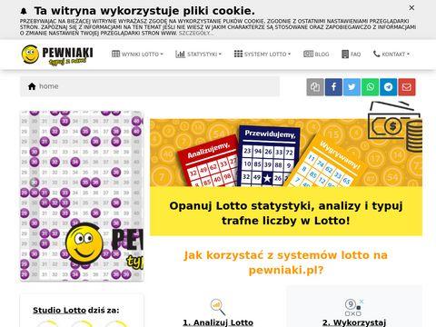 Wyniki lotto - pewniaki.pl