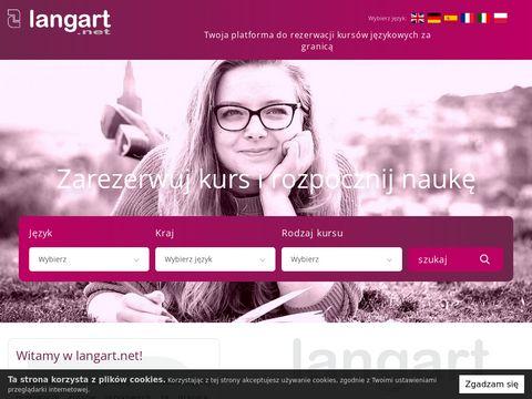 Kursy j臋zykowe za granic膮 - rezerwacja online | Langart.net