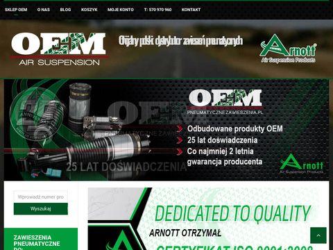 Zawieszenia pneumatyczne - OEM Automotive