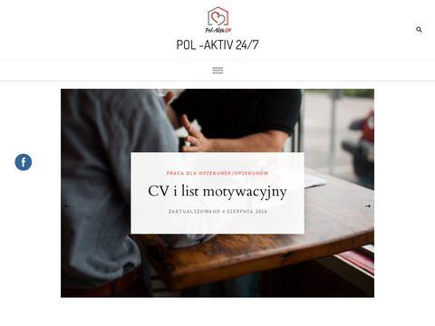 Praca dla Opiekunek i Opiekunów w Niemczech. Pol-Aktiv 24/7