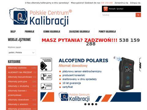 Kalibracja Alkomatu | Polskie Centrum Kalibracji