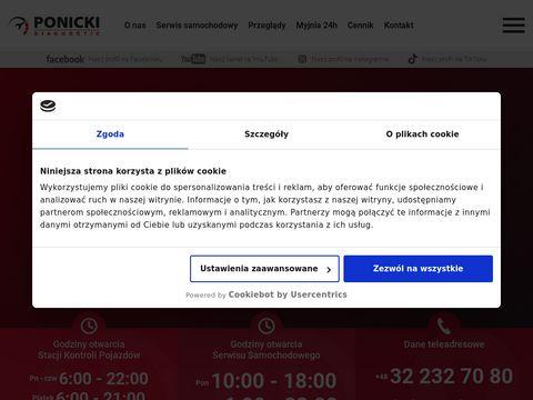 Stacja Kontroli Pojazd贸w Gliwice Ponicki