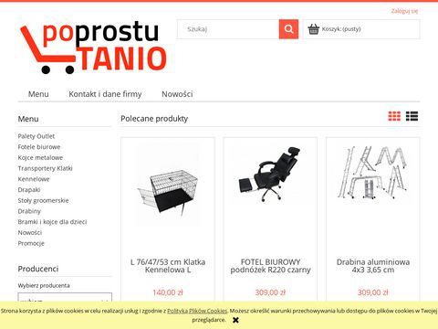Po Prostu Tanio - Fotele komputerowe, biurowe, gamingowe
