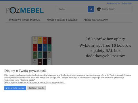 Meble biurowe, Regały metalowe, Szafy metalowe - Pozmebel - Sklep Pozmebel Poznań