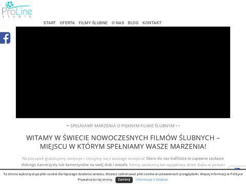 ProLine Studio – Kamerzysta na ślub i wesele, Filmowanie ślubów - Warszawa, Nowy Targ,