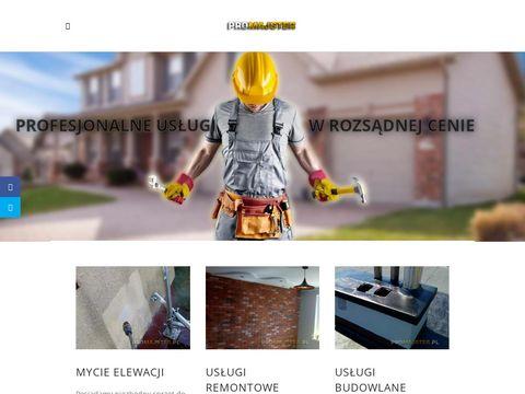 Remont mieszkania, mycie elewacji Olsztyn