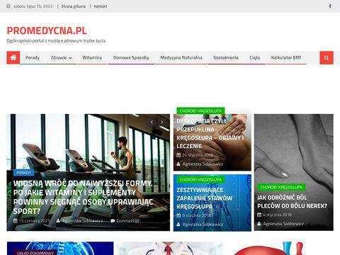 Zdrowie, choroby, dieta, porady - Promedycyna.pl