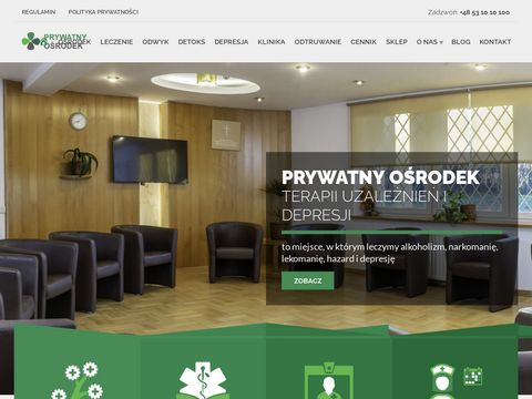 Prywatne leczenie uzależnień - prywatnyosrodek.pl