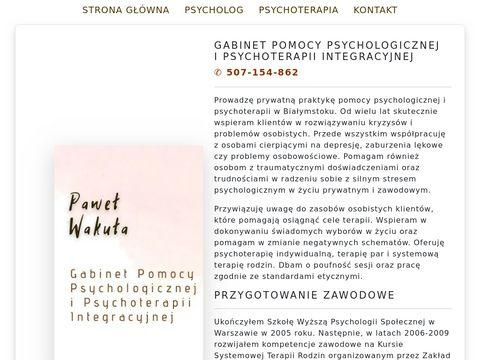 Psychoterapia Pomoc Psychologiczna