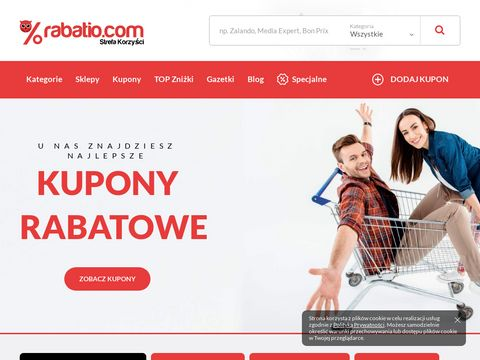 Kody rabatowe - rabatio.com