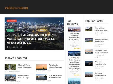 RadarOpadow.live - sprawd藕 opady online!