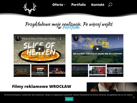 Filmy i spoty reklamowe we Wrocławiu - Rashpla.pl