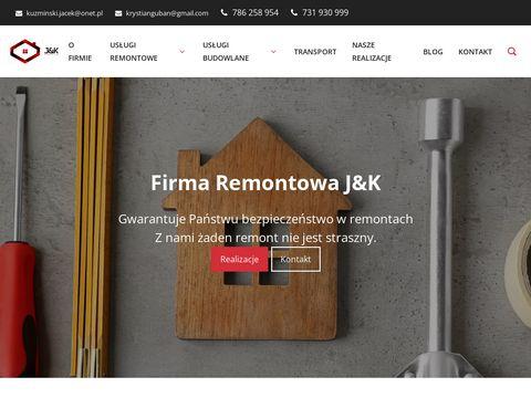 Firma remontowo-budowlana J&K | Remontowe.net