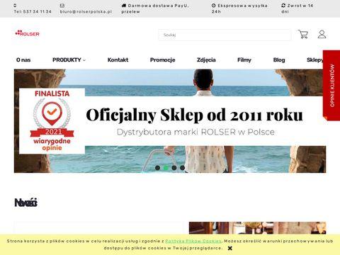 Rolser - nowoczesne wózki na zakupy
