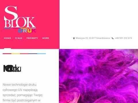 Sblok - Druk wielkoformatowy Kraków