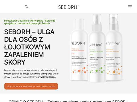 Kosmetyki na 艂ojotokowe zapalenie sk贸ry - seborh.pl
