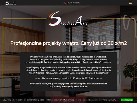 Projektowanie WnÄ™trz Online - www.senkoart.pl
