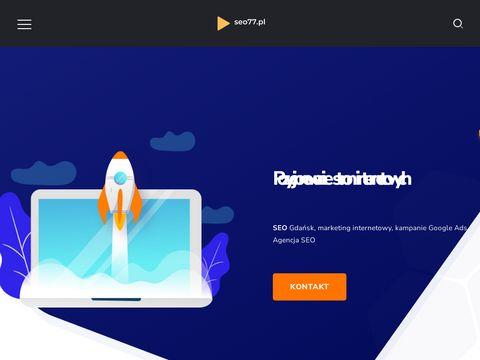 Pozycjonowanie stron - SEO77.pl