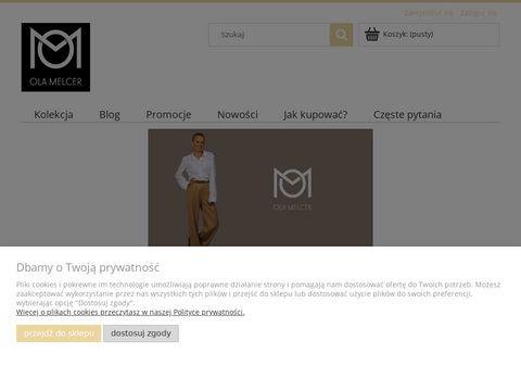 OLA MELCER - Stylowa odzież damska