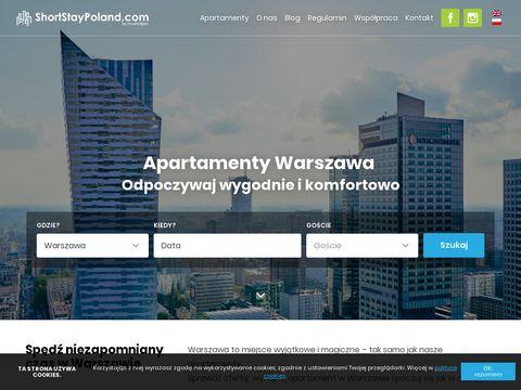 Shortstaypoland.com - Apartamenty Warszawa