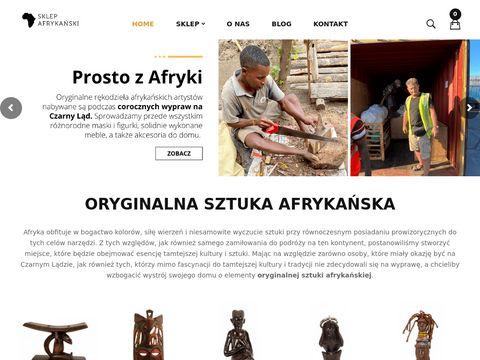 Sklep Afrykański - Rękodzieła z Afryki