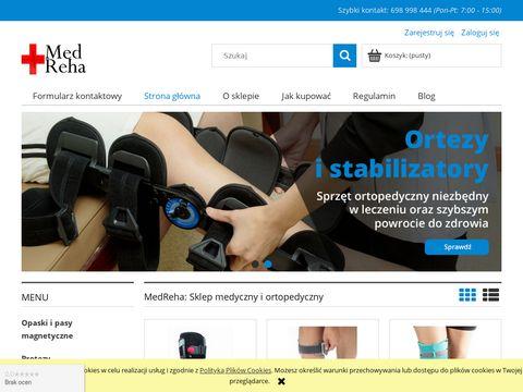 MedReha: Sklep Medyczny, Ortopedyczny, Rehabilitacyjny
