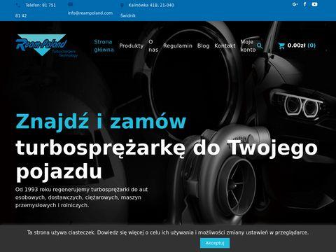 Ream Poland - Regeneracja Turbosprężarek