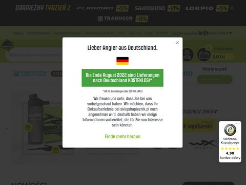 Internetowy sklep w臋dkarski Drapie偶nik