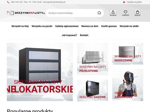 Skrzynki pocztowe skrzynkinalisty.pl