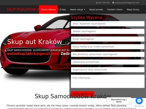 Skup aut Krak贸w - skupsamochodowkrakow24.pl