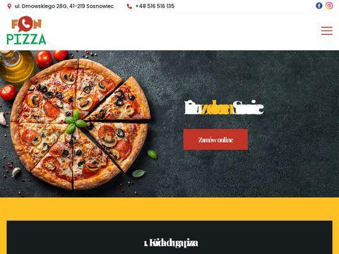 Pizza z dowozem Sosnowiec