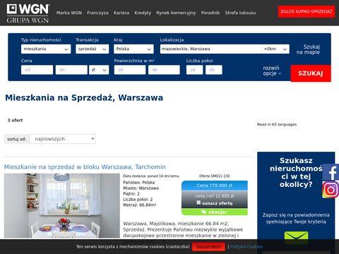WGN - Mieszkania na sprzedaż Warszawa