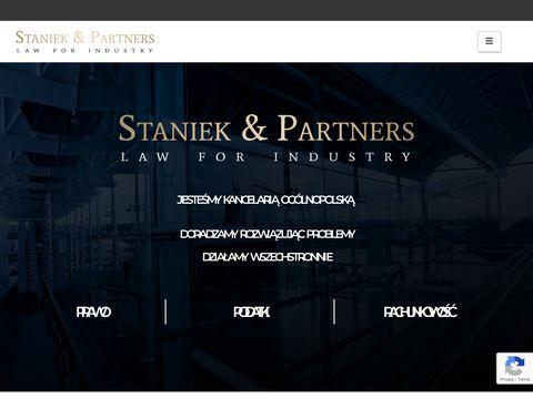 Doradztwo prawne - Kancelaria Staniek i Partnerzy