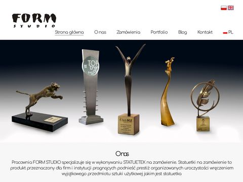 Statuetki na zam贸wienie, statuetki okoliczno艣ciowe   Form Studio