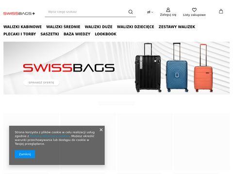 Walizki kabinowe, plecaki na laptopa - SwissBags