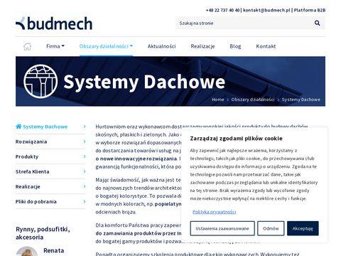 Budmech Systemy Dachowe, https://systemy-dachowe.pl/