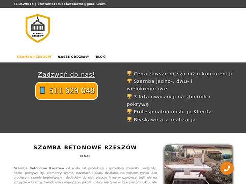 Szamba Betonowe Podkarpackie Rzeszów