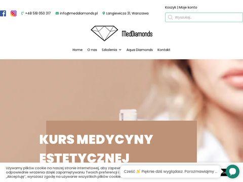 Szkolenia medycyny estetycznej - MEDDIAMONDS Warszawa