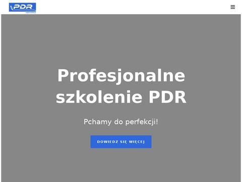 Szkolenie PDR | Kurs z bezlakierowego usuwania wgniece艅 | SzkoleniePDR.pl